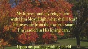Cradled In His Loving Care