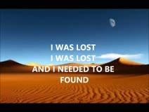 I WAS LOST