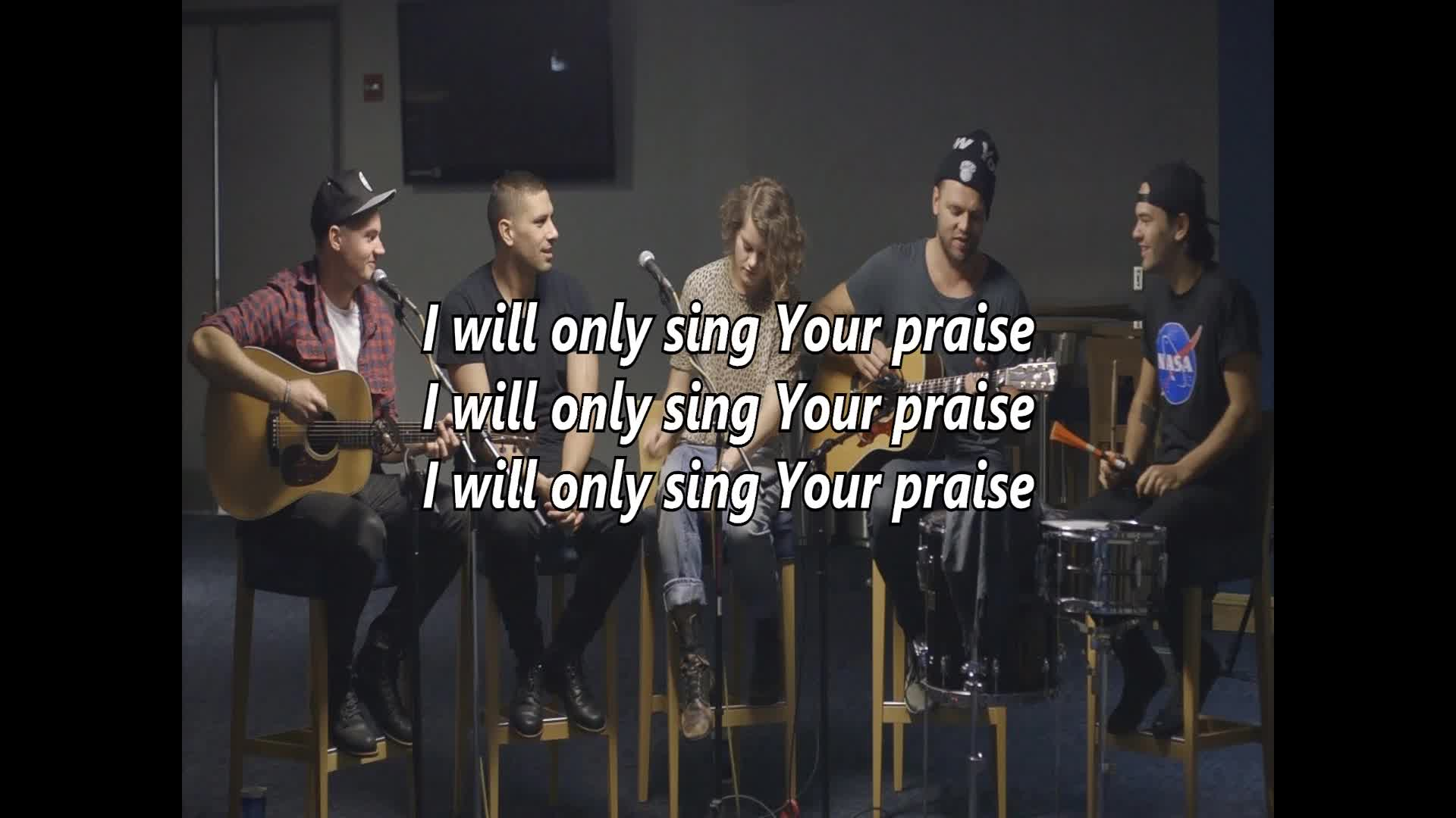 Even When It Hurts - Praise Song by Hillsong United (lyrics) - Christian  Music Videos