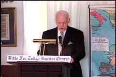 Part 2 -- Christ – A True Foundation    – Pastor D. A. Waite – 1 Corinthians 3:1-11–  BFTBC