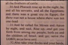 Part 3 -- The Angel Of Life  – Exodus 12:1-51 – Daniel S. Waite -- BFTBC