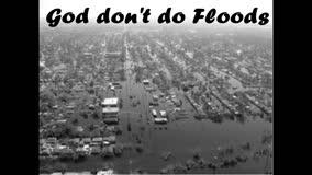 God didn't do it