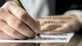 Xulon Press book PARSON TO PERSON | Reverend Edward E. Menaldino