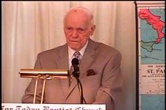 Part 1 -- he Cup of Blessing  – 1 Corinthians 10:15-22 –  Pastor D. A. Waite – BFTBC