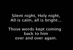 Silent Night - the story of the song's origin