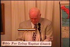Part 3 -- Exodus 19:1-25 –    The Wilderness of Sinai – Pastor D. A.  Waite – BFTBC