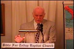 Part 2 -- Exodus 19:1-25 –    The Wilderness of Sinai – Pastor D. A.  Waite – BFTBC