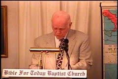 Part 1 -- Exodus 19:1-25 –    The Wilderness of Sinai – Pastor D. A.  Waite – BFTBC