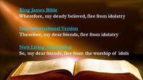 Think About It! 26  My Bible, MY IDOL?