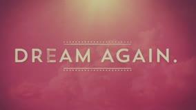 God Wants Us to Dream Again