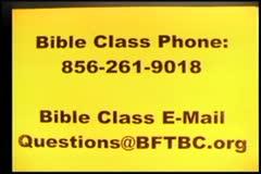 Part 1 --  Judge Ourselves   – 1 Corinthians 11:32-12:7  –  Pastor D. A. Waite – BFTBC