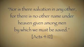 No Other Name Under Heaven