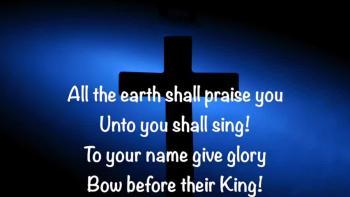 Glory To You Name!