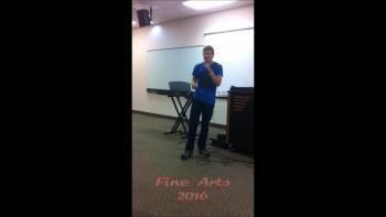 Fine Arts 2016 Rap