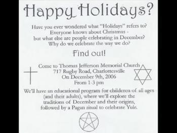 Christmas: Acceptable OR Pagan?