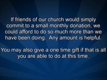 A Video Message To Our Friends Online