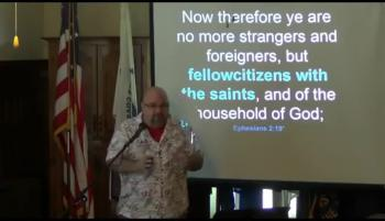 029 No More Strangers and Foreigners (Ephesians 2:19-22) 1 of 2