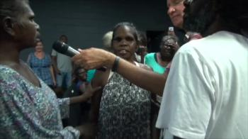 Deaf Elcho Island aboriginal lady who was unable to speak miraculously healed - John Mellor Healing Ministry
