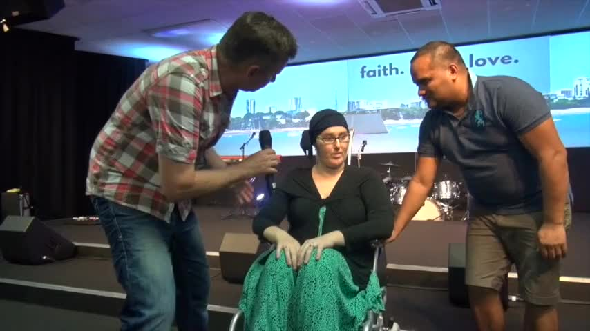miracles and healing break out during prayer - Ministry Videos