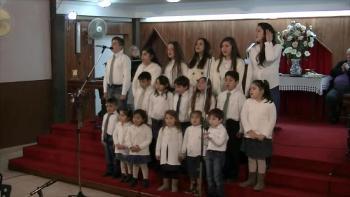 Iglesia Evangélica Pentecostal. Alabanza Coro de niños 2. 26-06-2016