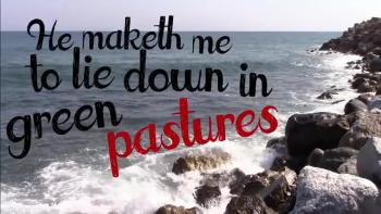 Christopher Alive // Psalm 23 Acapella // Official Lyric Video - Christian  Music Videos
