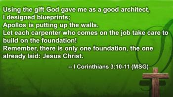 """The Cornerstone of Our Faith"""