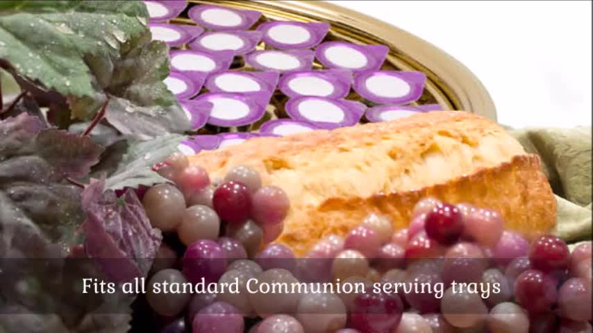 Prefilled Communion Cups | Prepackaged Communion Cups