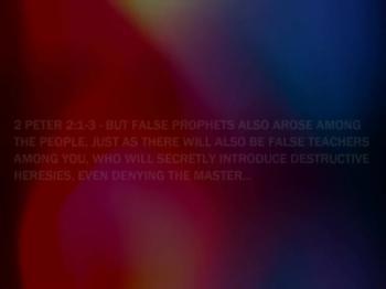 False Prophets - Living In Deceptive Times