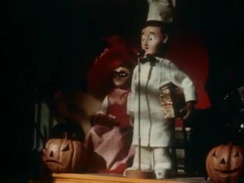 Davey and Goliath - Halloween Whodunit
