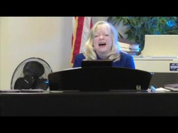 """Cheryl Raymes sings """"Oh How I Love Him"""""""