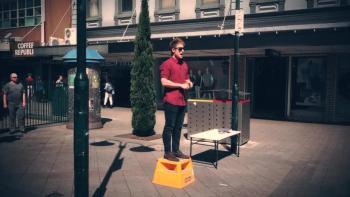 Street Preaching Launceston Mall