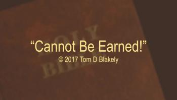 Cannot Be Earned!