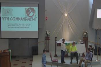 """2017 Feb 5 OSLC Youth Sunday: """"10 Commandments"""" based on Exodus 20:1-21"""