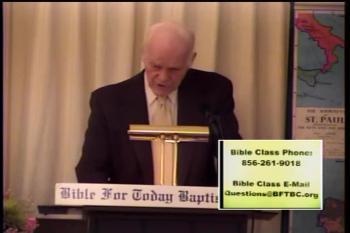 A Living Sacrifice  –   Romans 11:30–12:1  –  BFTBC – Pastor D. A. Waite
