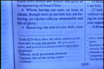 More Precious Than Gold  –   1 Peter 1:5-12  –   Pastor D. A. Waite  –  BFTBC