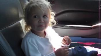 Cute Little Girl Sings the BIBLE Song