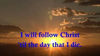 Heath Bewley - I Will Follow Christ (Lyric Video With Animation)