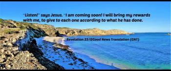 Jesus is coming soon