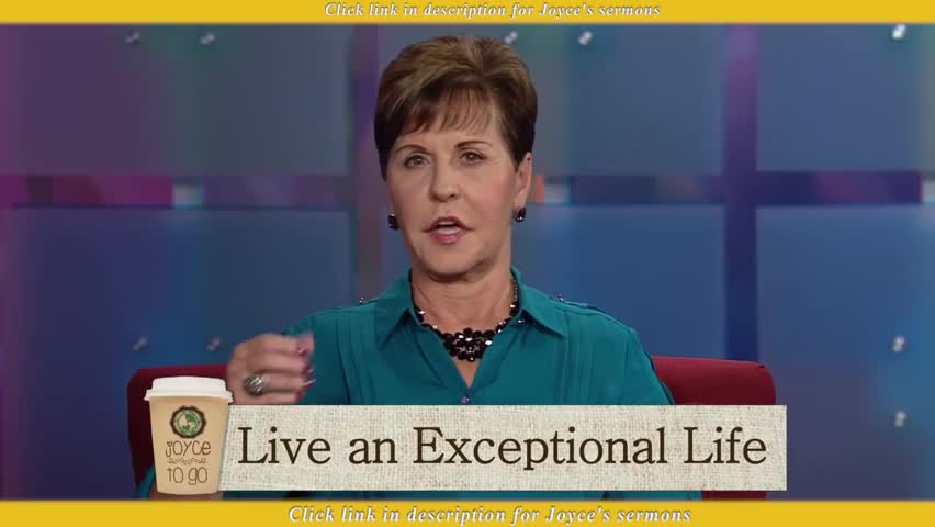 Joyce Meyer — How to Deal with Rejection - Sermon Videos