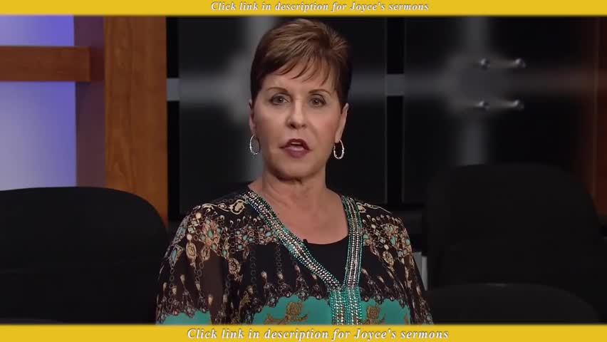 Joyce Meyer — There Are Right Fears And There Are Wrong Fears - Sermon  Videos