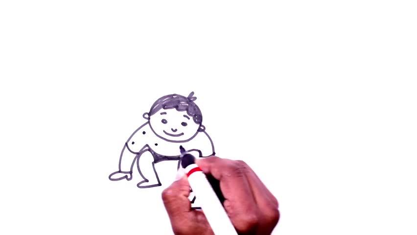 Ganpati Drawing For Kids Ganesh Drawing Step By Step Kids Videos