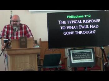 The Gospel Matters Most (Philippians 1:12-18) 1 of 2