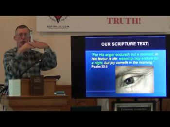 The Comfort of God's Tears (John Albaugh) 1 of 2