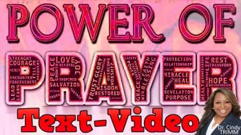 Atomic Power of Prayer by Dr. Cindy Trimm