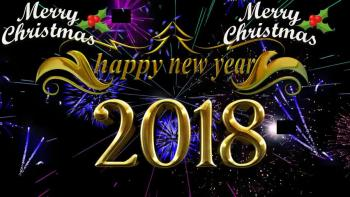 advance happy new year countdown timer 2018