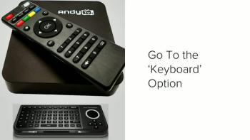How To Setup Andy TV Box
