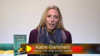 Book Trailer: NO ONE EVER ASKED by Katie Ganshert