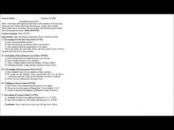 01-14-18 Greencastle COB weekly service