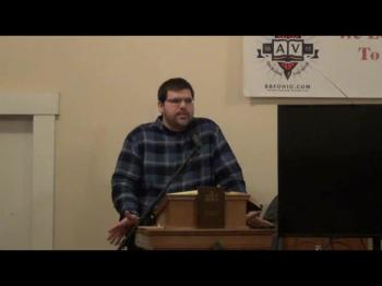 Why Do Christians Hate Bible Study? (Steven Miller) 1 of 2