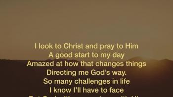 I Look To Christ!